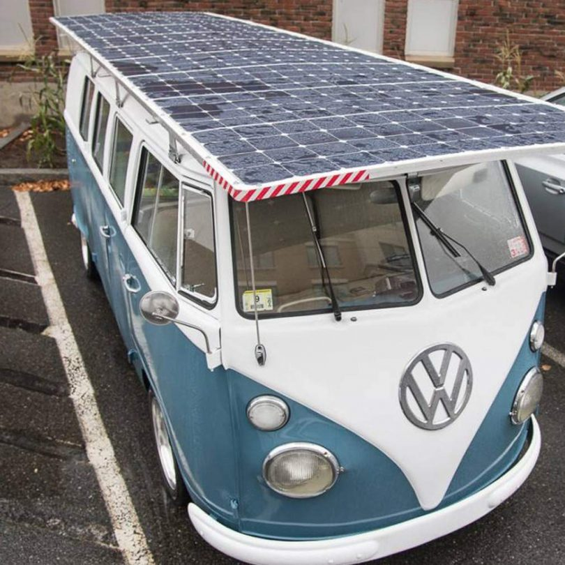 Panneau solaire pour camping car